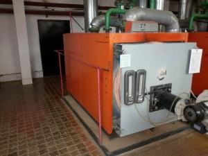 Проверка технического состояния котла водогрейного марки «ДАКОН-ПРЕКСАЛ Р 1400»