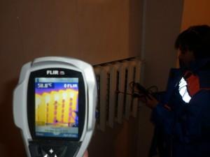 Проведение теплоэнергетического обследования при помощи тепловизора FLIR i5
