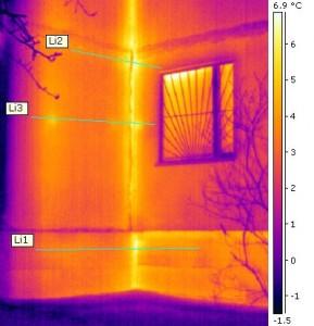 Изображение, сделанное тепловизором